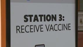 Sneak peek inside the Wisconsin Center's coronavirus vaccination clinic