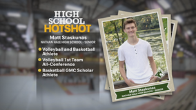 West Allis senior excels on volleyball, basketball courts