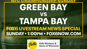 Get the NFC Championship Game hype started during a FOX6 online special