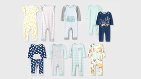 Target recalls infant rompers due to choking hazard
