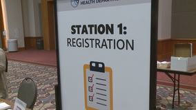 Milwaukee Health Department vaccination site opens at Wisconsin Center