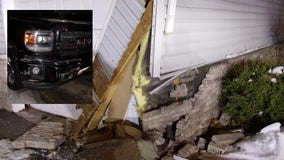 Man taken into custody for OWI after crashing into apartment building
