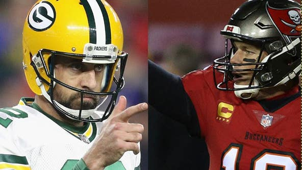 Rodgers vs. Brady: Packers face Bucs in NFC title game at Lambeau