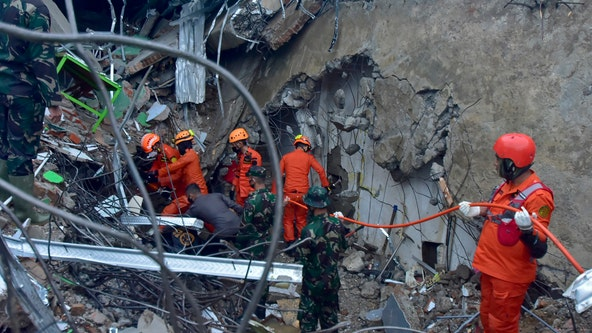 At least 42 dead as Indonesia earthquake topples homes, buildings