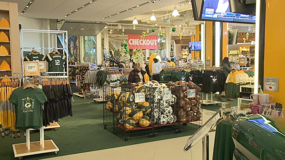 Packers Pro Shop at Lambeau Field