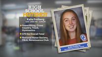 Oak Creek High School junior brings strength, speed, stamina