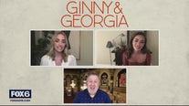 Gino talks with the stars of the Netflix family drama 'Ginny and Georgia'