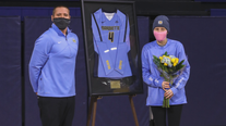 #Gold4Sarah honors Marquette volleyball player fighting Ewing sarcoma