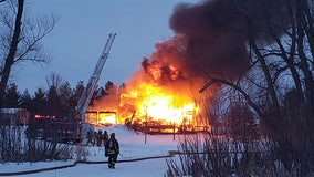Fire destroys Town of Dover home; space heater may be to blame