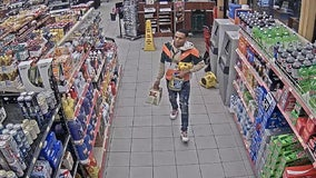Law enforcement seeks to ID man who stole beer from gas station