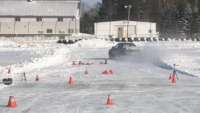 Winter Autocross heats up Road America course