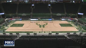 Bucks to allow limited number of fans at Fiserv Forum