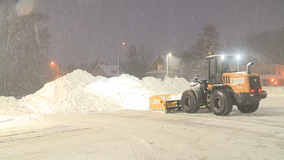 Snow removal race intensifies as temperature drop nears