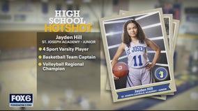 High School Hot Shot: St. Joseph's Jayden Hill
