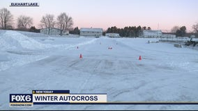 Winter Autocross at Road America in Elkhart Lake