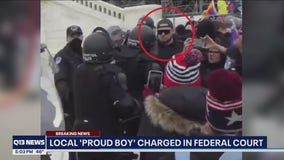 Capitol Riot: Member of Proud Boys arrested in Washington state, feds say
