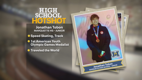 Marquette HS speed skater is a Youth Olympic medalist