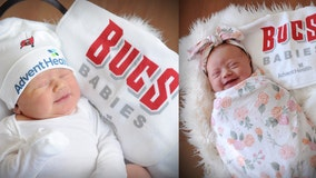 Florida newborns ready to cheer on the Bucs in the Super Bowl