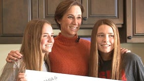 2 sisters help raise money to find a cure for blood cancer