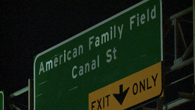 American Family Field, Brewers Boulevard signs hoisted into place