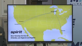 Spirit Airlines to fly out of Milwaukee with non-stop flights to 3 cities