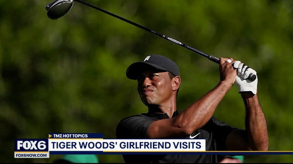 Tiger Woods greeted with familiar face as he recovers from crash