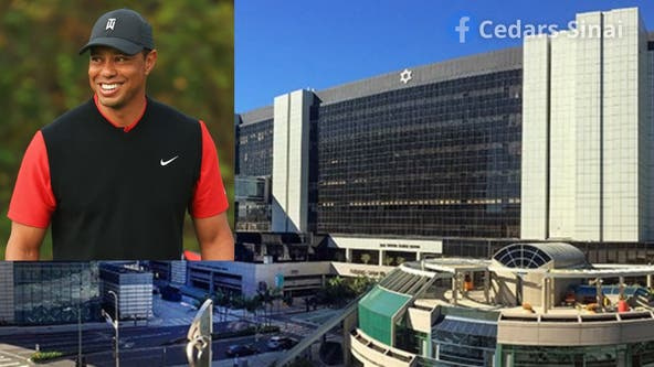 Tiger Woods moved to a different hospital after Tuesday's crash