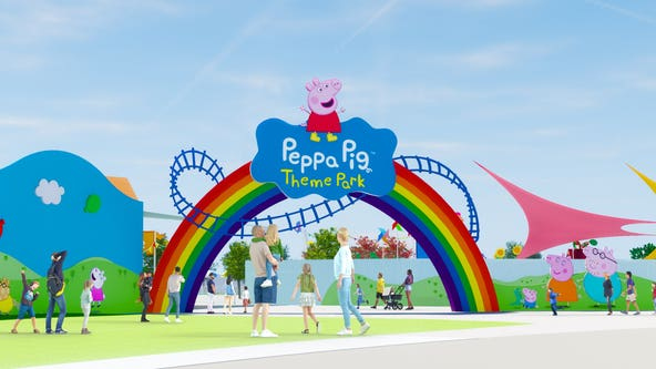 World's first Peppa Pig theme park to open at LEGOLAND Florida