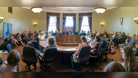 COVID-19 precautions ignored by dozens at state Capitol hearing