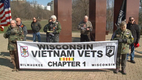 'We can't forget:' Milwaukee ceremony honors Vietnam War Veterans Day