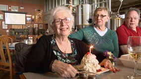 'Vaccinated twice,' Delafield woman celebrates 84th with family