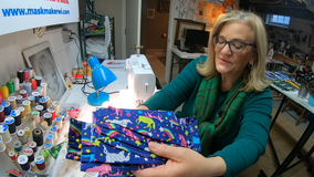 Elm Grove woman reflects on 1 year of sewing masks