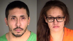 Man, woman accused of leading deputies on pursuit with newborn in car