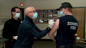 Records show 10-50% of first responders declined COVID-19 vaccine