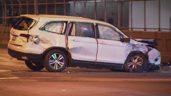 Police investigate fatal crash on 16th Street viaduct