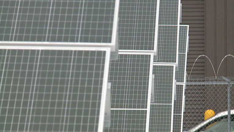 Milwaukee's largest solar project