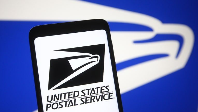 In this photo illustration the United States Postal Service