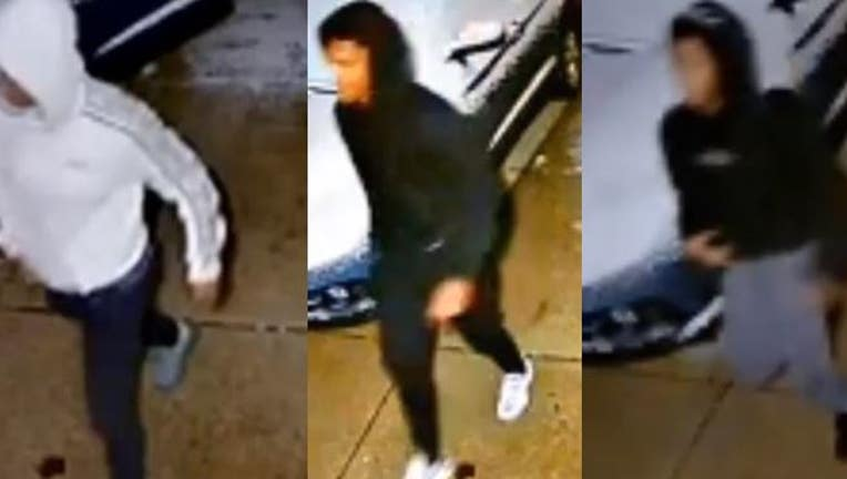 4 wanted for stealing from garage near 91st and Mill