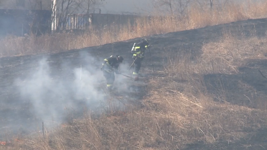 Man suspected of setting fire along Hank Aaron State Trail