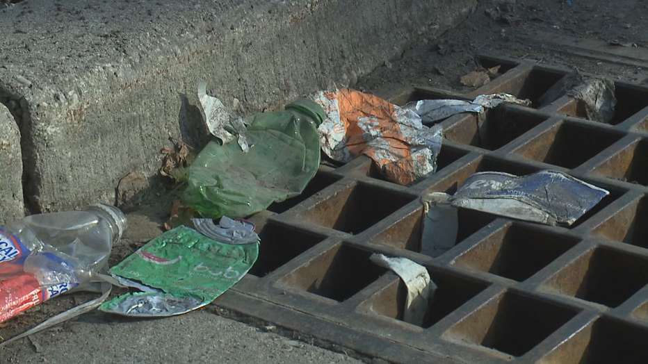 Snowmelt reveals a mess 2 years after Milwaukee littering fine increase