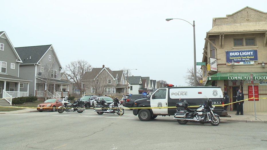 Pedestrian struck by vehicle near 27th and Hadley, Milwaukee
