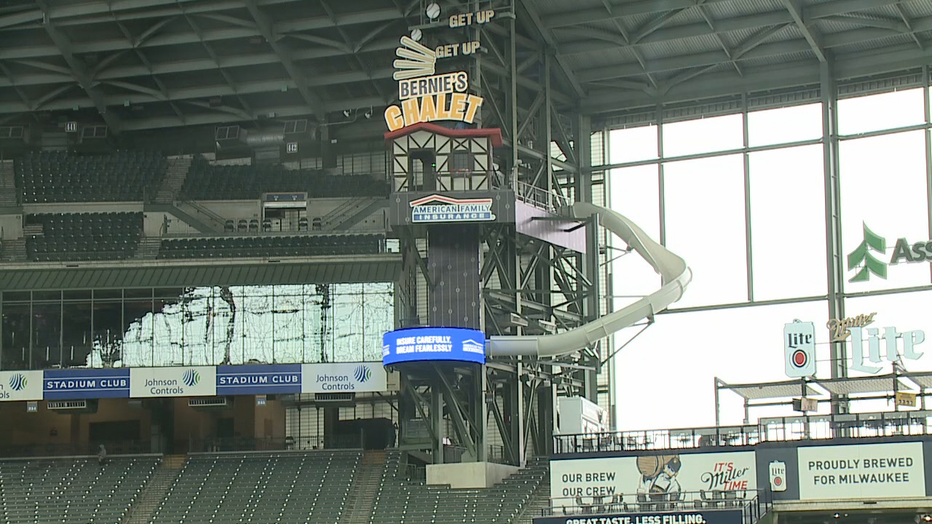 Brewers unveil Chalet at American Family Field