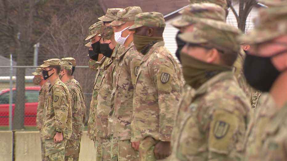 996th Engineer Company returns home after tour in Middle East