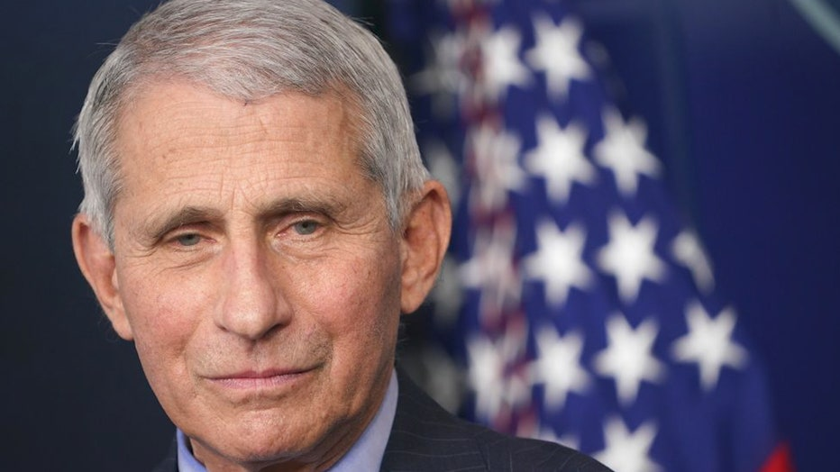 Dr. Anthony Fauci White House