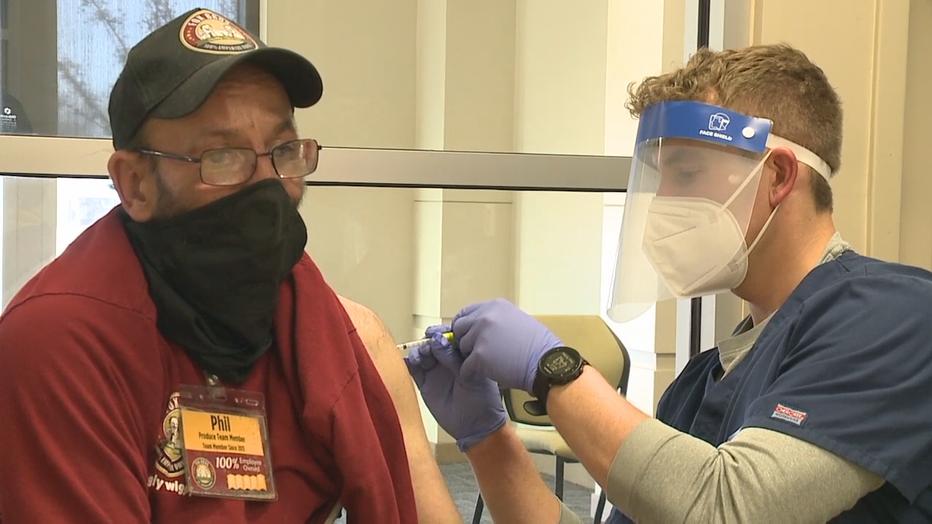 Concordia vaccine clinic