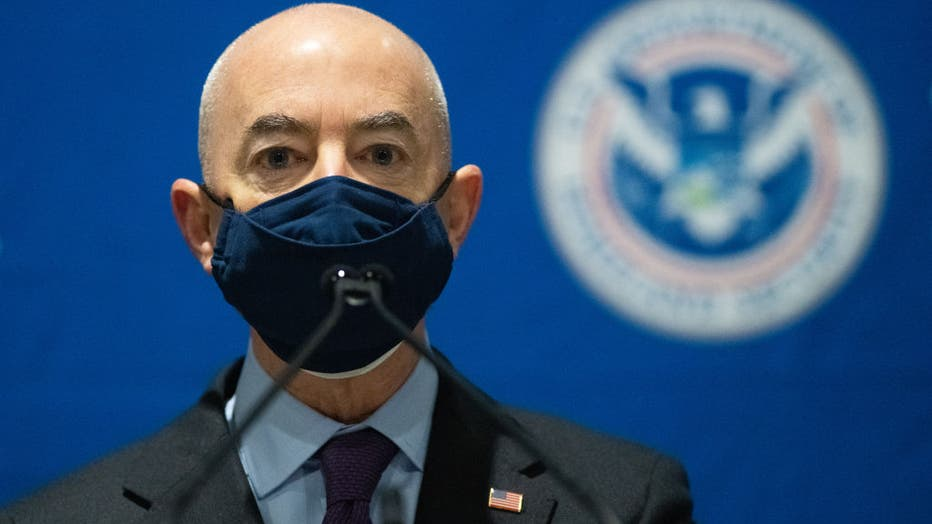 DHS Secretary Mayorkas Visits FEMA Community Vaccination Center In Philadelphia