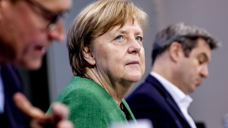 Merkel And States Leaders Plan Further Coronavirus Policy