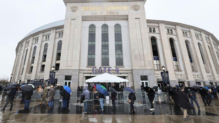 New York's Yankee Stadium Hosts Major Coronavirus Vaccination Site