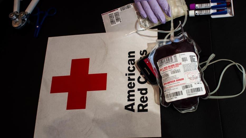 Red Cross Blood Shortage