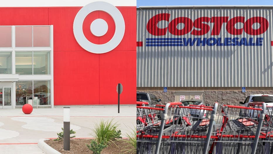 Target Costco collage